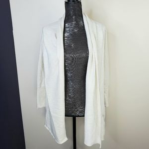 O'Neill Cream Knit Open Front Cardigan
